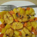 Печен Ослич со зеленчук (Посно)