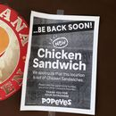 Popeyes says you can have a chicken sandwich if you bring your own bun