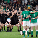 New Zealand haka and an Irish folk song clash in a stirring Rugby World Cup moment
