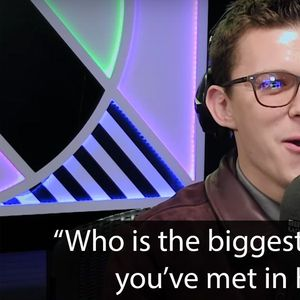 Tom Holland gets asked awkward questions by precocious little kids