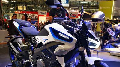Kymco RevoNEX – Електричен спортски мотоцикл