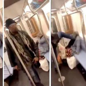 Американците во неверување – патник претепа старица во метро, а никој не ѝ помогна