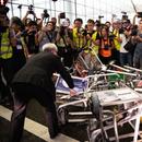 Судир на полицијата и демонстрантите на аеродромот во Хонг Конг