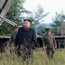 Ким присуствуваше на тестирање на нов ракетен фрлач