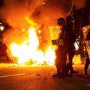 Нови судири меѓу полицијата и демонстранстите во Барселона