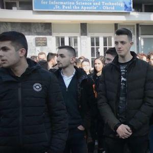 Студентите од Факултетот за информатика во Охрид, не прифаќаат трансформација на Универзитетот