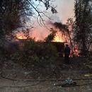 (ВИДЕО) Пожар во индустрискиот дел кај спортскиот центар во Тетово