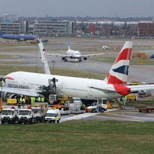 Несреќа на аеродромот во Лондон