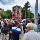Од протестот во Охрид: Народот е против националните предавства на Власта и за јасни црвени линии
