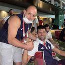 Костовски: Си посакавме златни медали со Новак- поддршка за Деки и Македонија од врвниот светски спортски АС