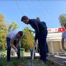 Муцунски: Симболично засадивме седум дрвца, ќе работиме за чист, зелен и безбеден Аеродром