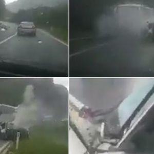 Уапсен Босанецот кој снимаше сообраќајка во која загина едно лице