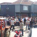 Кошкање меѓу граѓаните и полицијата во Љуботен
