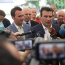 Во живо – Заев и Баздникин на пуштање во употреба безнинска пумпа