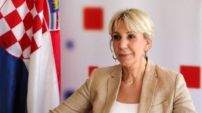 Тигањ: Горда сум што Македонија доби почеток на преговори за време на хрватското претседавање