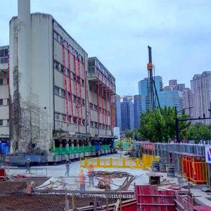 """Зграда што """"оди"""" – како Кинезите преместија петкатница"""