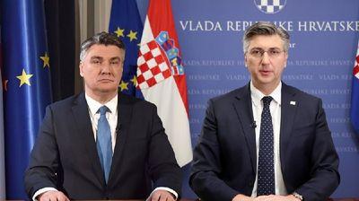 Анкета: Милановиќ најпопуларен, Пленковиќ најнегативен политичар во Хрватска