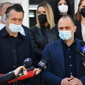 (Во живо) Филипче во посета на амбулантата во Сарај