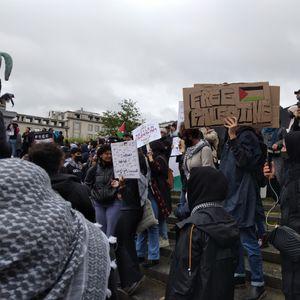 Масовен пропалестински протест во Брисел, се бараат санкции против Израел