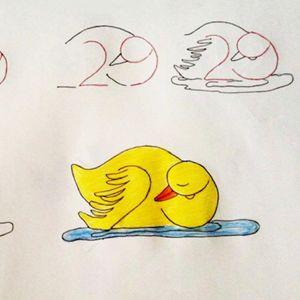 Научете ги вашите деца да цртаат со помош на бројки – многу забавен и креативен начин!