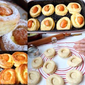 Меки, фини и мирисни полнети крофни од рерна