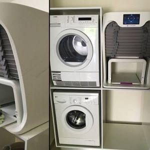 На многу жени желбите им се остварија! Ова е машина која суши, пегла и ги дипли алиштата!