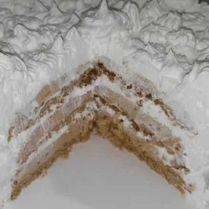 Посна Нес-кафе торта: Вкусна и мирисна торта