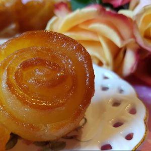 Вкусни тулумби во вид на ружа кои се топат во уста – едноставна подготовка