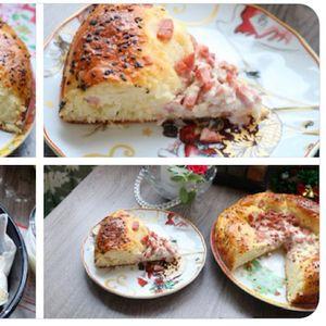 Фина полнета погача, многу вкусна и мека, одлична за ручек или вечера