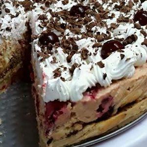 Луда торта за 15 минути – без маргарин, без печење, освежителна и вкусна