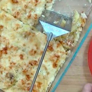 Рецепт за магичен ручек од запечени тиквички во рерна, без месо, одлично летно јадење за ручек или вечера