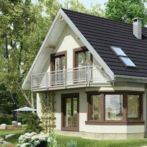 Куќа од соништата: преубава куќа со 5 спални соби (Внатрешно уредување и детален план)
