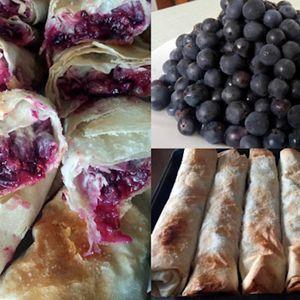 Неодолива есенска пита со готови кори и грозје – традиционален рецепт за овој период од годината – многу вкусно