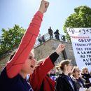 Протест на жените во Швајцарија против половата нееднаквост