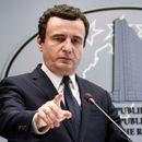 """Курти: Не се приклучувам на """"Отворен Балкан"""" додека Србија не го признае Косово"""