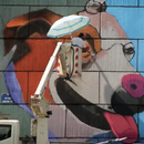 """""""АКТО фестивал"""" изработи мурал во Домот на Култура во Ченто"""
