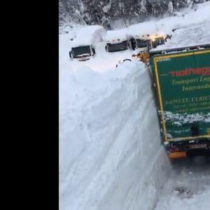 Австрия и Германия под 2-3 метра сняг, евакуират хора (ВИДЕО+СНИМКИ)