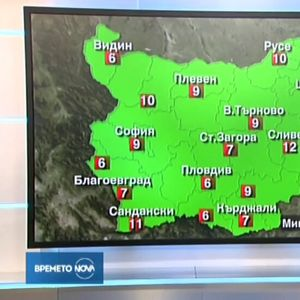 Прогноза за времето (19.10.2019 - централна)