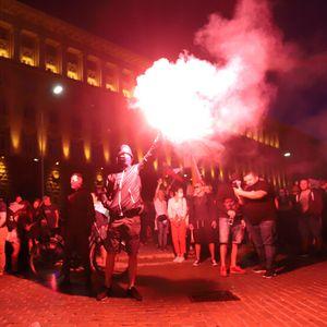 Без ескалация на напрежението приключи петият ден на протести в София