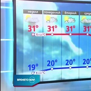 Прогноза за времето (09.08.2020 - обедна)