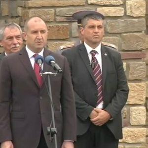 Президентът: От нас зависят свободата и независимостта на България