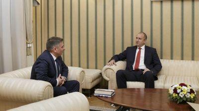 Данаил Кирилов се срещна с президента Румен Радев