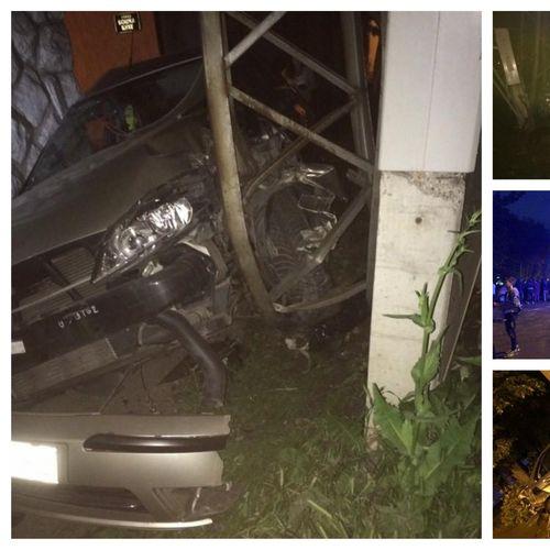 STRAHOVIT UDES U NOVOM SADU Maloletnik vozio 100 na sat pa udario u drugi automobil, TRUDNICA ISPALA IZ KOLA I završila u jarku