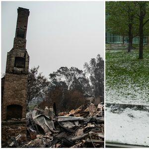 VATRA I LED U SLIKAMA Ekstremno vreme: U jednom delu Australije bukte požari, u drugom haraju OLUJE SA GRADOM