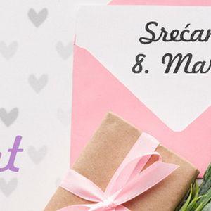 Ne čekajte poslednji dan za kupovinu poklona, 8. Mart je blizu!