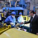 """""""MORA DA SE RADI"""" Vučić u kineskoj fabrici u Obrenovcu:""""Ovde 3.000 ljudi radi odličan posao"""""""