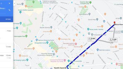 Od sada na Google maps i pregled GSP linija u Beogradu
