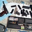 Policija pronašla oružje i metke, uhapšen muškarac