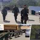 НЕ СПЛАСНУВА ТЕНЗИЈАТА НА КОСОВО Војници на КФОР пристигнаа на граничниот премин Јариње (ФОТО)