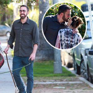 """Заљубен """"до уши"""" , Бен Афлек не се одвојува од својата девојка"""